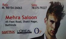 Mehra Saloon